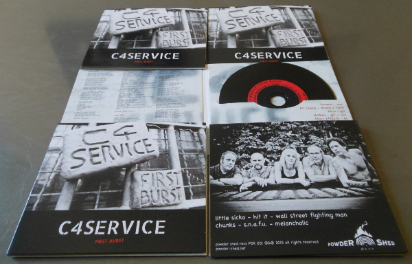 C4Service - First Burst - CD presentation 600