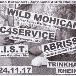 Flyer3_Wild-Mohicans_C4Service_MIST_Abriss-Trinkhalle_Rheine