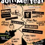 Flyer Sommerfest Norderstedt C4Service et al