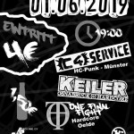 Flyer C4Service Keiler One Final Fight HoT Warendorf 01-06-19